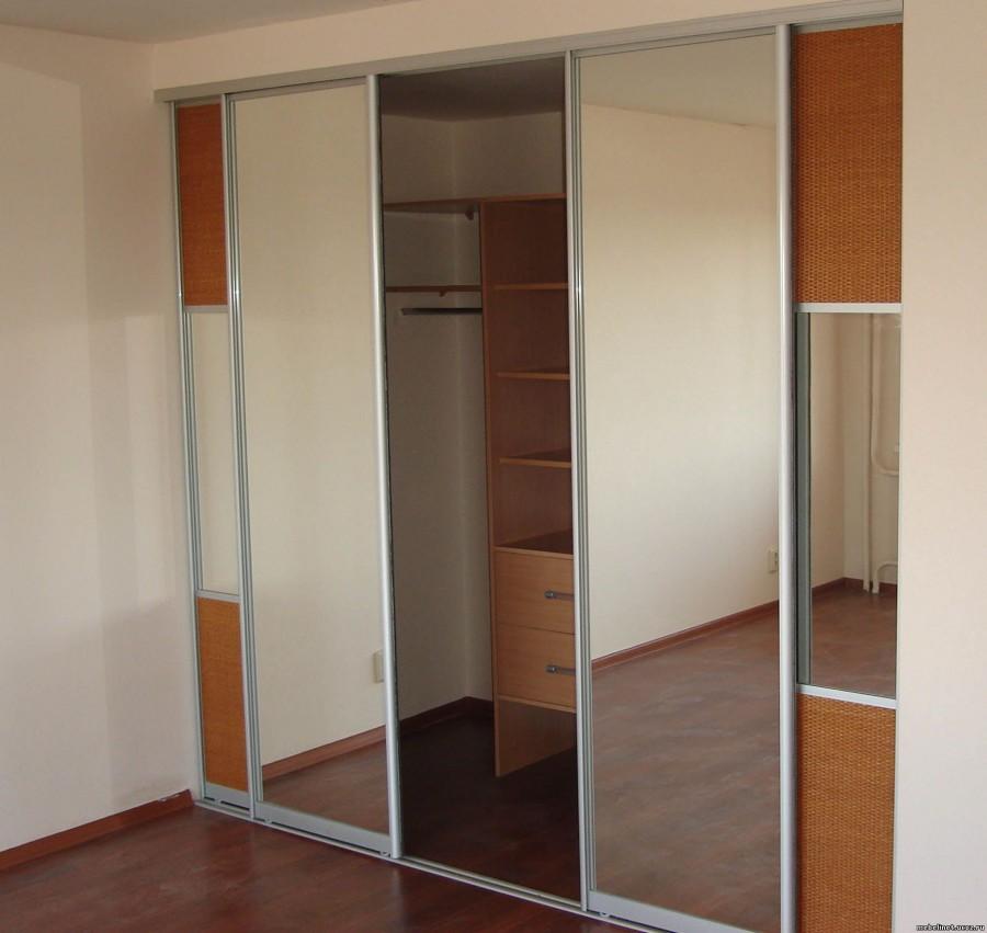 Дизайн дверей купе для гардеробной